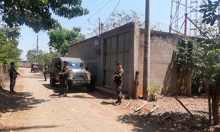 The Guatemalan Army implements border surveillance.
