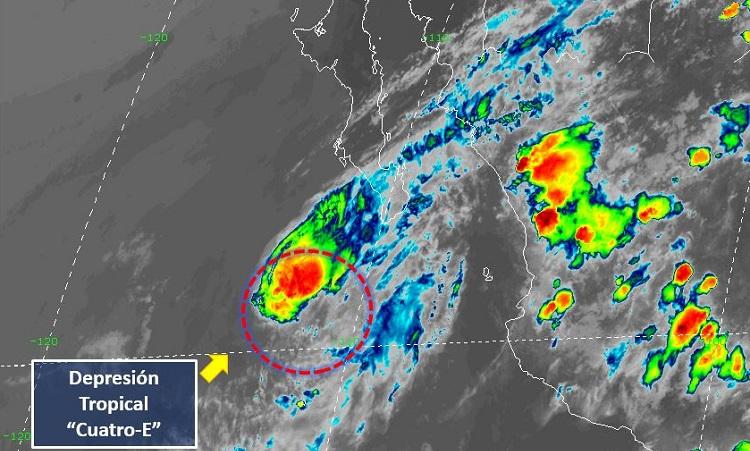 Depresión tropical Cuatro-E
