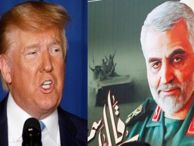 Irán emite orden de arresto contra Trump