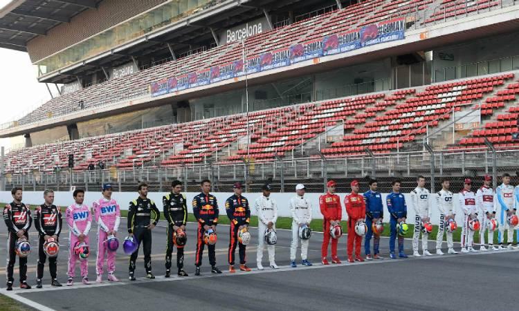 Los pilotos de Fórmula 1 planean arrodilalrse a manera de protesta cotnra el racismo