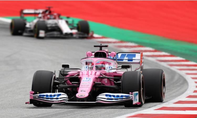 Checo pérez quedó en tercer lugar de la segunda práctica del Gp de Austria