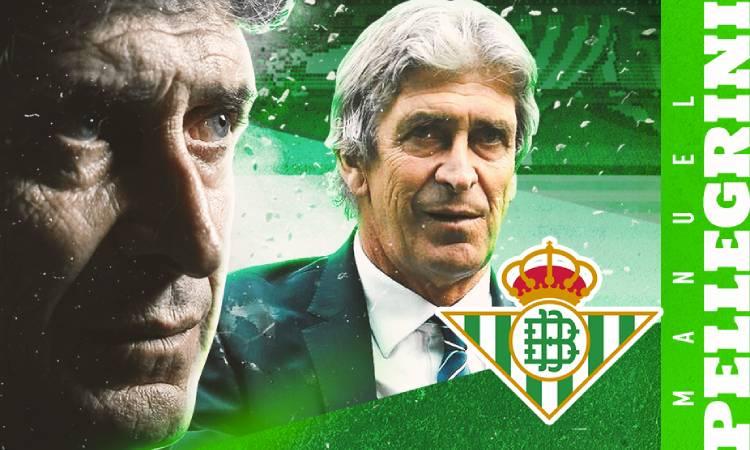Manuel Pellegrini firmó un contrato de tres años con el Betis