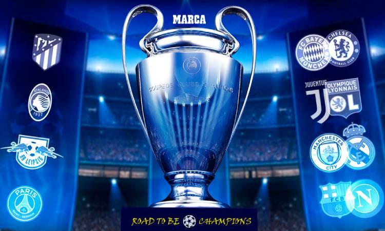 Quedan definidos las siguientes fases de la Champions League