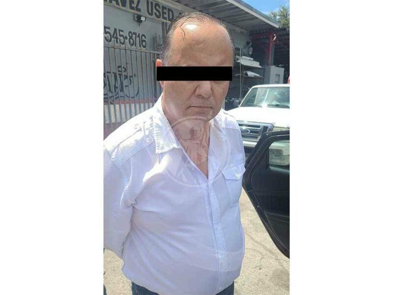 Detienen a César Duarte, exgobernador de Chihuahua, en Estados Unidos.