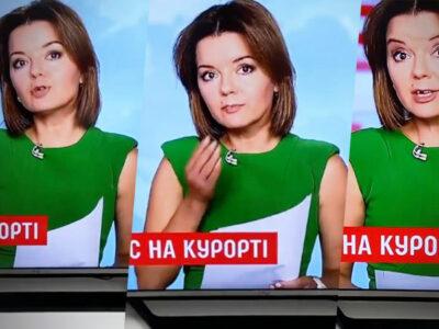 Conductora de noticias pierde diente en vivo