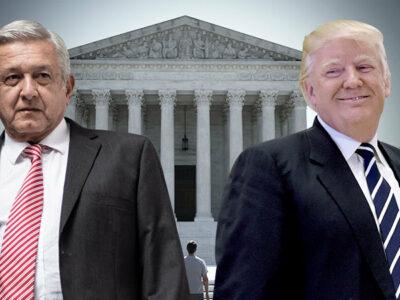 Menú AMLO y Trump