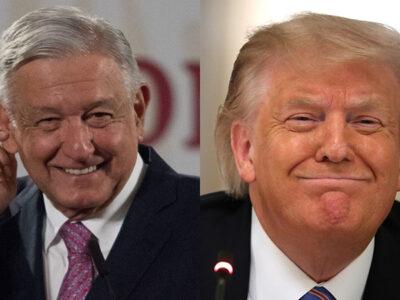 AMLO visita a Trump