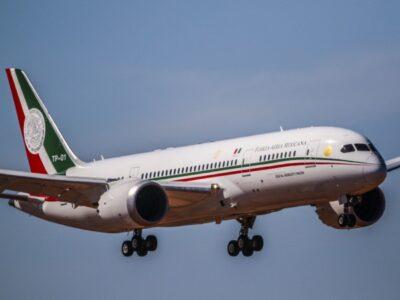 ¿Cómo es el avión presidencial que llega a México?