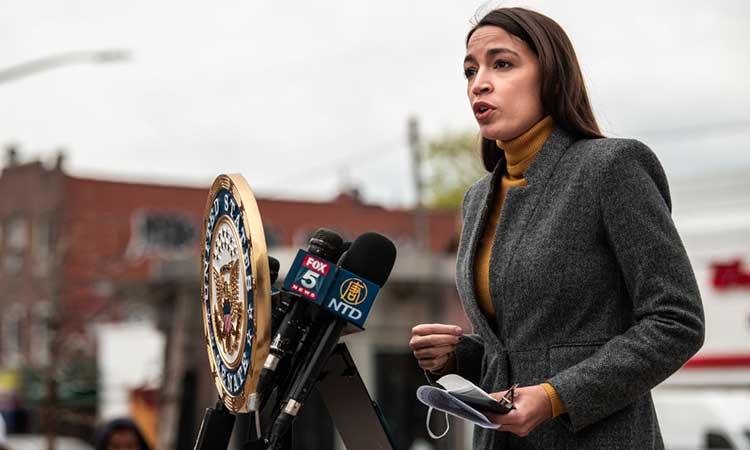 Alexandria Ocasio-Cortez es la más joven del actual Congreso de los Estados Unidos.