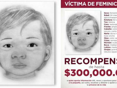 Recompensa 300 mil por identidad y asesinos de bebita