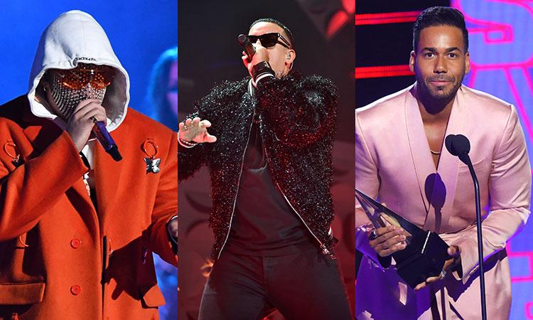 Bad Bunny, Daddy Yankee y Romeo Santos ganan premio ASCAP