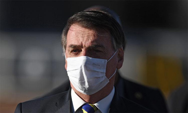 Bolsonaro se hace prueba de COVID-19