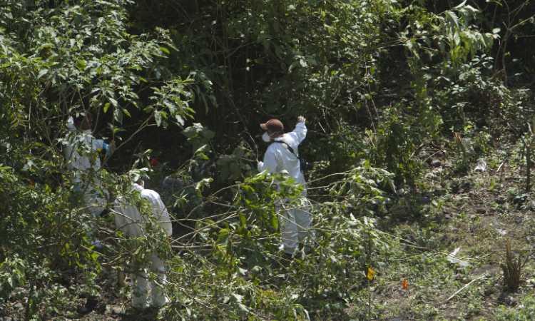 Caso Ayotzinapa: Mapa del lugar donde hallaron restos de normalista