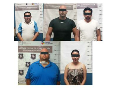 En Chihuahua, por fraudes a hoteles capturan a 5 personas
