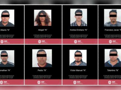 En Veracruz, detienen a 8 del Cártel Jalisco Nueva Generación