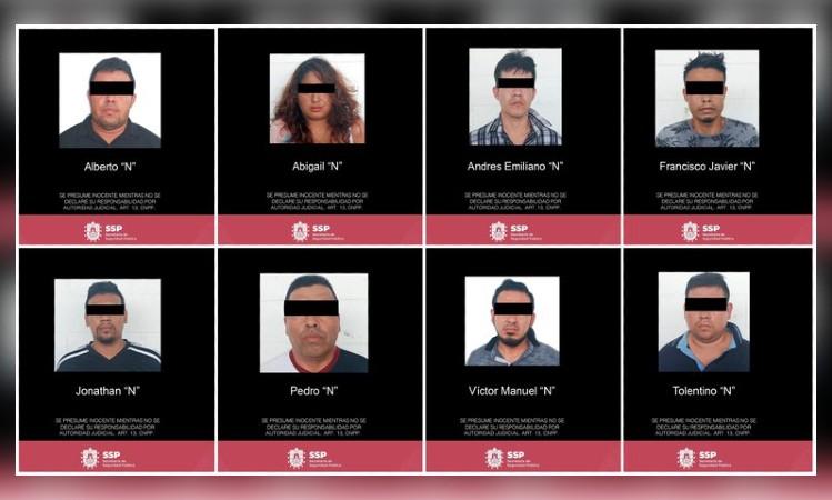 En Veracruz, detienen a 8 del Cártel de Jalisco Nueva Generación