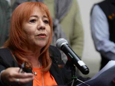 Presidenta de la CNDH, Rosario Piedra, denuncia amenazas de muerte
