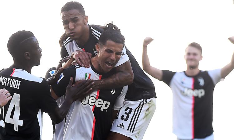 La Juventus aplastó al Torino