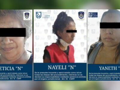 Detienen a 3 mujeres por secuestro de 14 médicos en CDMX