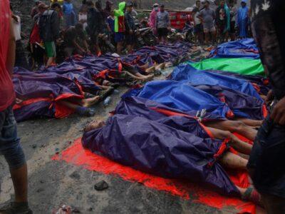 MYANMAR-MINING-ACCIDENT-JADE,SCENE' BY LAPYAE KO AND YE AUNG THU
