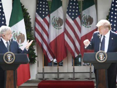 AMLO-Trump: frases de sus discursos en la Casa Blanca*