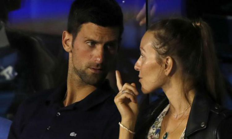 Novak Djokovic se recupera de la Covid-19.