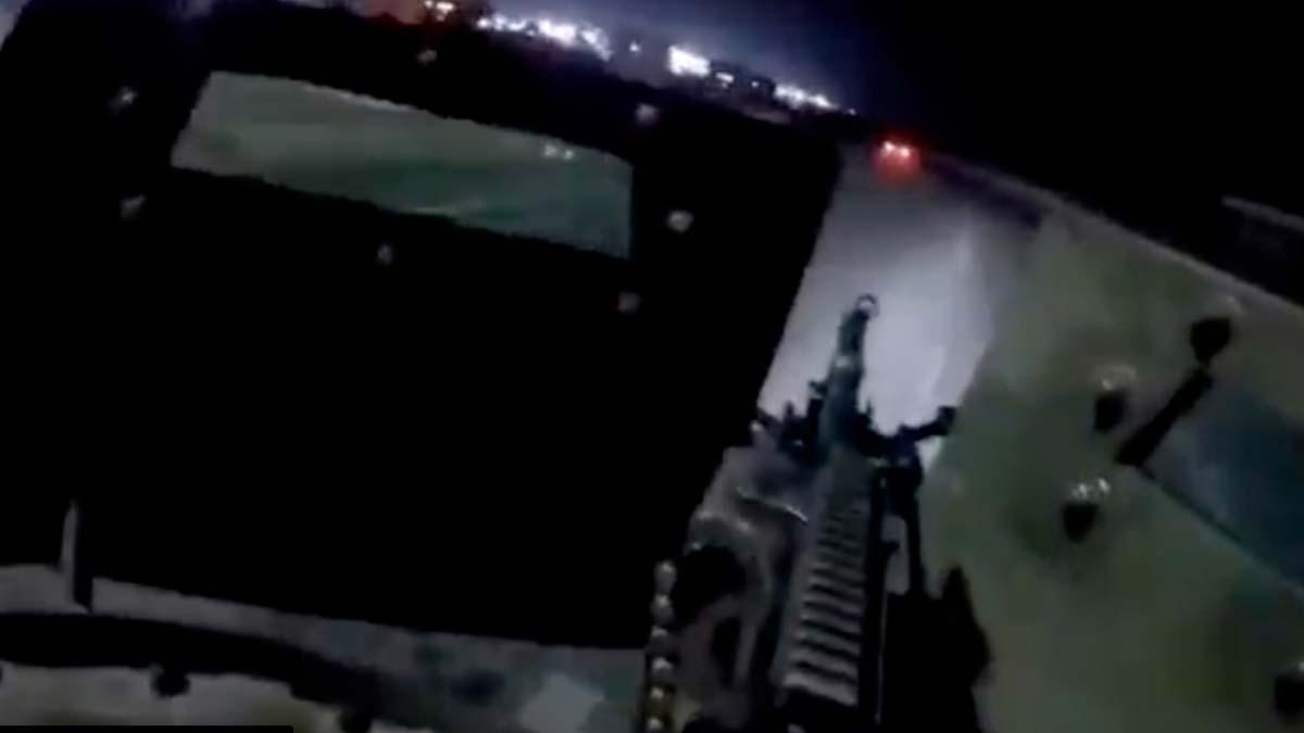 Video de enfrentamiento del Ejercito con grupo armado en Tamaulipas