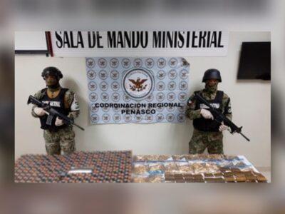 En Sonora, aseguran más de 9 mil cartuchos de grueso calibre