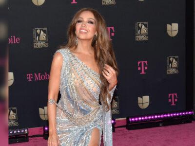 Thalía sorprende con parecido con Marilyn Monroe