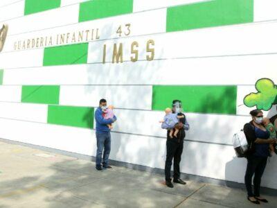 GUARDERIAS IMSS LISTAS PARA ABRIR