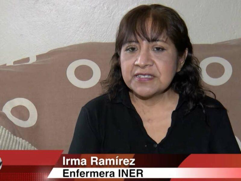 Coronavirus: Enfermera del INER sobrevive tras 24 días intubada