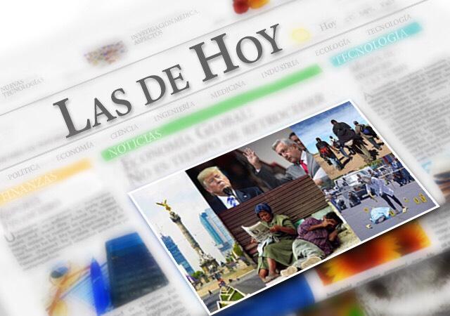 Noticias de hoy México