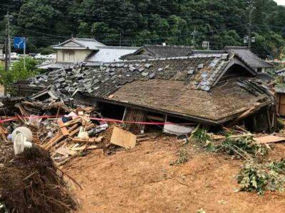 Lluvias torrenciales en Japón dejan inundaciones y deslaves