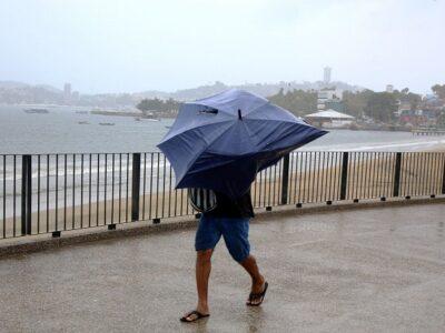 Lluvias clima pronóstico