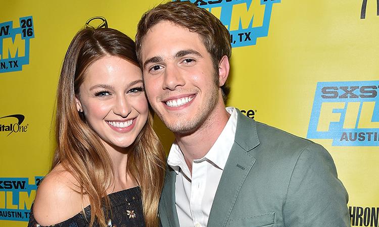 Melissa Benoist y Blake Jenner maldición Glee