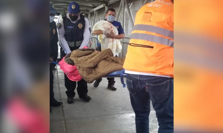 Metro de CDMX: Nace el primer bebé del año en la Línea B