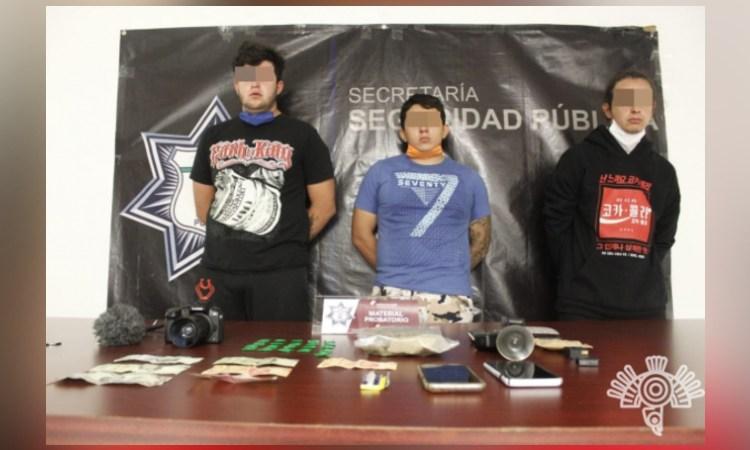 En Puebla detienen a YouTuber que vendía droga