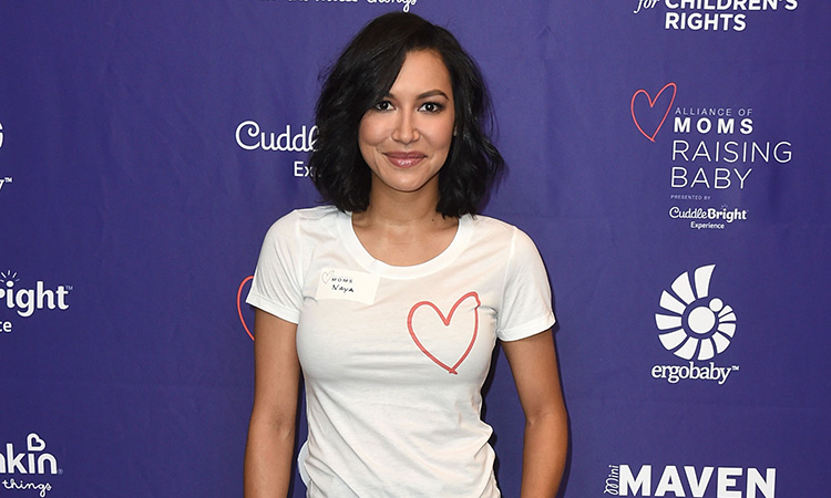 Naya Rivera compañeros Glee