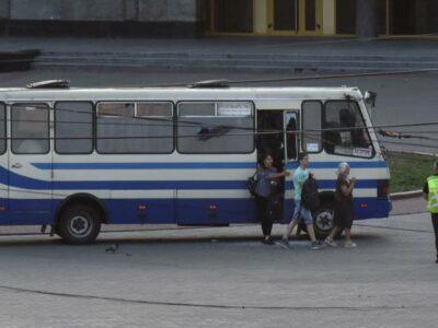 Autobús secuestrado en Ucrania: liberan a todos los rehenes