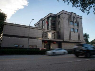 Estados Unidos acusa espionaje del consulado de China en Houston