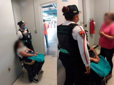 niña extraviada en el Metro
