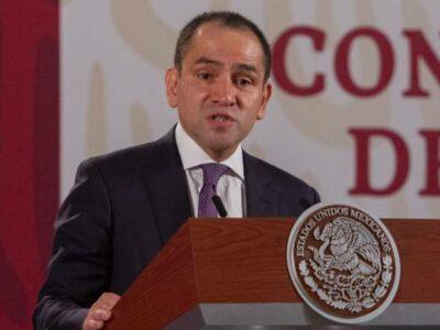 Arturo Herrera, secretario de Hacienda, retoma tareas tras COVID-19