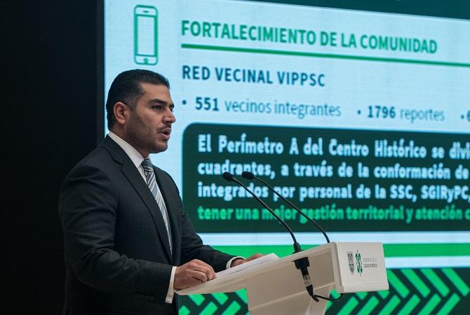 Omar García Harfuch regresó a trabajar a la SSC-CDMX