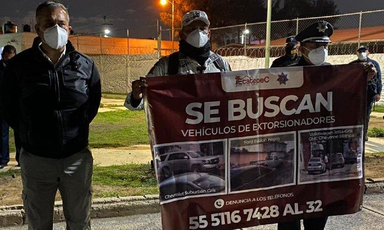 ALCALDE RECOMPENSA POR POLICIAS EXTORSIONADORES ECATEPEC
