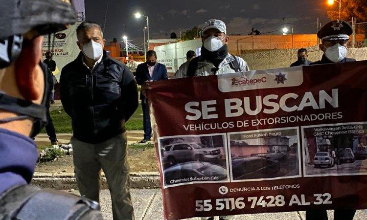 RECOMPENSA POR POLICIAS EXTORSIONADORES ECATEPEC