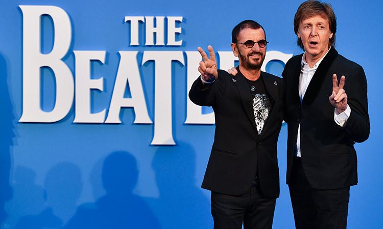 Ringo-Starr y Paul McCarney