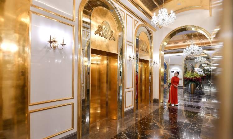 En este hotel de Vietnam todo lo que brilla es de oro