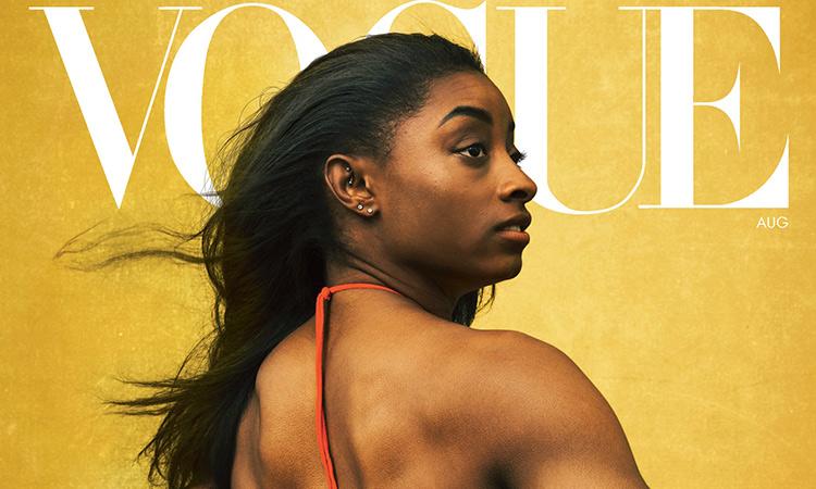 Simones Biles portada Vogue