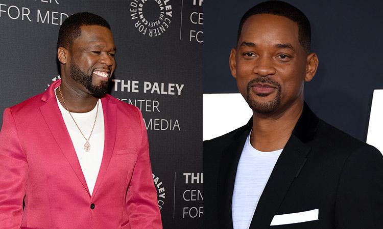50 Cent y Will Smith discutieron a través de Instagram-