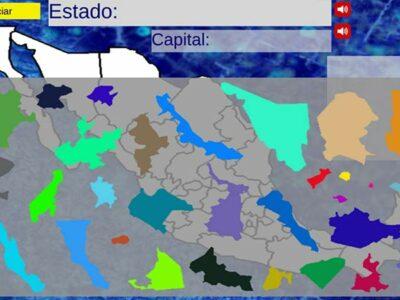 Experto de la UNAM crea un videojuego que consiste en un mapa interactivo de la República Mexicana